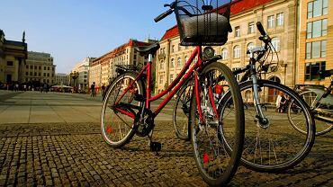 Berlin najlepiej zwiedzać na rowerze