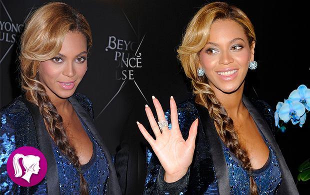 Romantyczny warkocz w stylu Beyonce