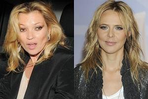 Kate Moss i Maja Sablewska.