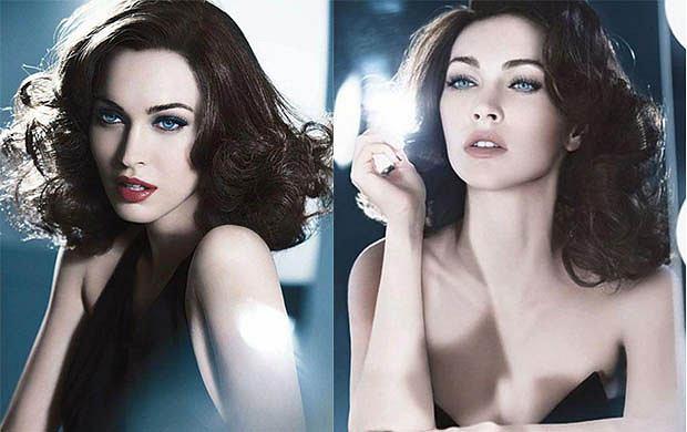 Megan Fox w kampanii reklamowej Armani Beauty