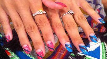 Stylizacja paznokci prosto z pokazu Ruffian