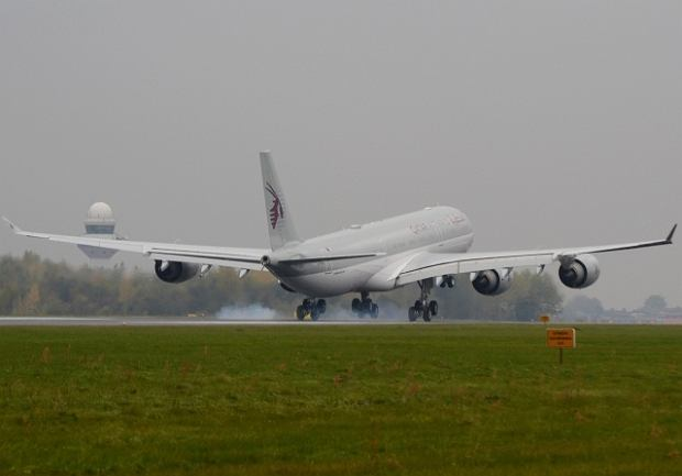 Airbus A340 Qatar Airways