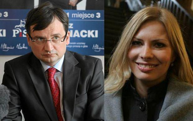Zbigniew Ziobro Patrycja Kotecka.