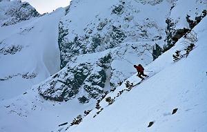 10.04.2010 TATRY , NARCIARSTWO SKITOUROWE .  FOT. ADAM GOLEC / AGENCJA GAZETA