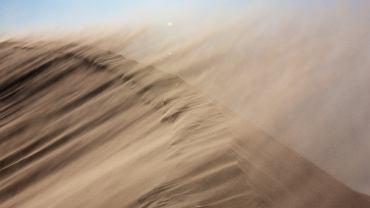 burza piaskowa, pustynia