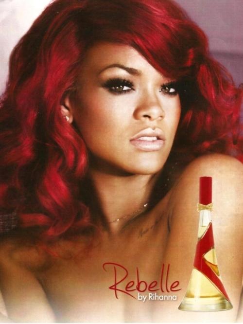 Rihanna i jej nowy zapach - Rebelles