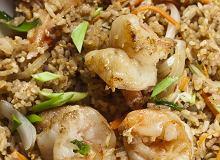 Ryż smażony z krewetkami i warzywami - ugotuj