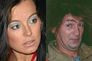 Karol Strasburger i Anna Mucha.