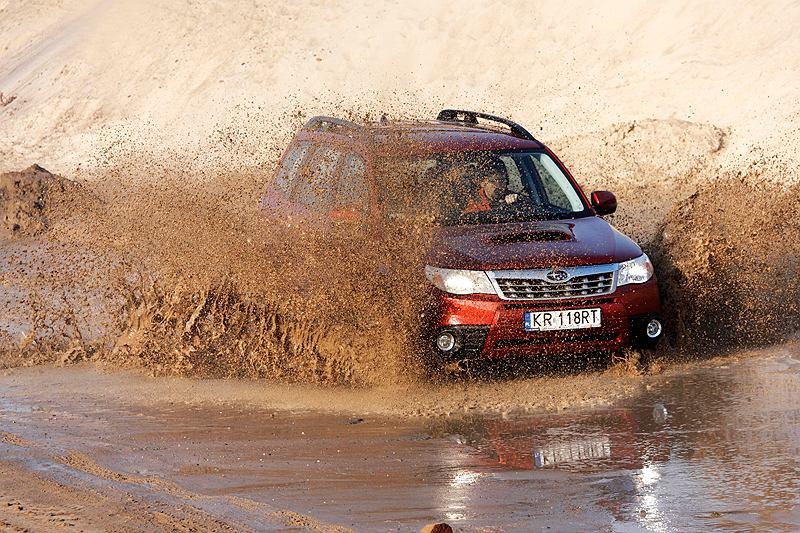 Subaru Forester 2.0D, fot. Michał Dek
