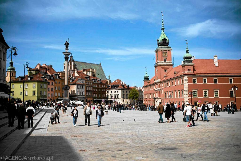 Zamek Królewski w Warszawie / Fot. Franciszek Mazur / Agencja Gazeta