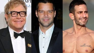 Elton John, Marc Jacobs i Ricky Martin