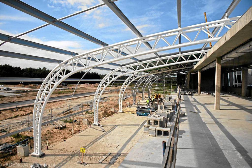 Budowa nowego portu lotniczego i terminala na lotnisku w Modlinie