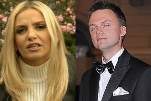 Maja Frykowska i Szymon Hołownia.