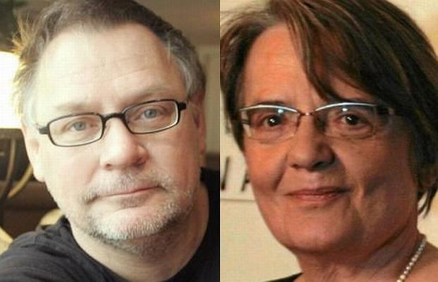Agnieszka Holland i Janusz Kamiński