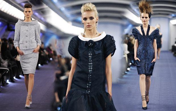 Pokaz Chanel haute couture wiosna lato 2012
