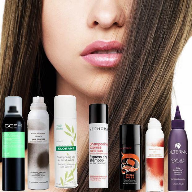 Suche szampony - piękne włosy bez mycia głowy
