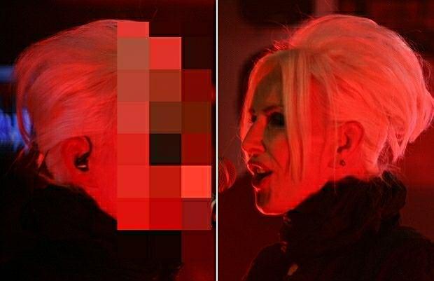 Kora zakazała fotografowania swojego prawego profilu