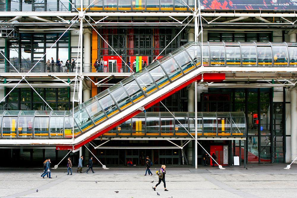 Paryż wycieczki, Centre Pompidou