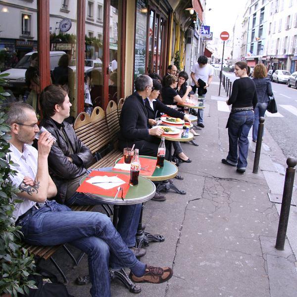 Paryż wycieczki, paryska kawiarnia