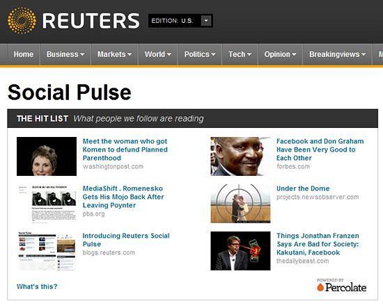 Reuters Media Pulse