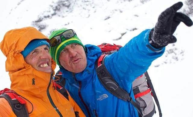 Simone Moro i Denis Urubko na Nanga Parbat