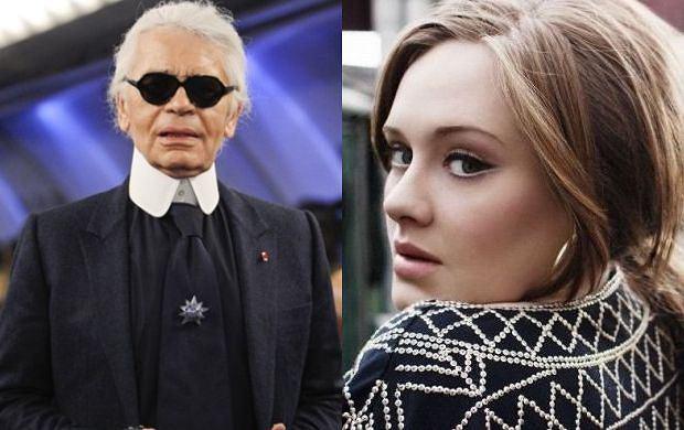 Karl Lagerfeld, Adele.