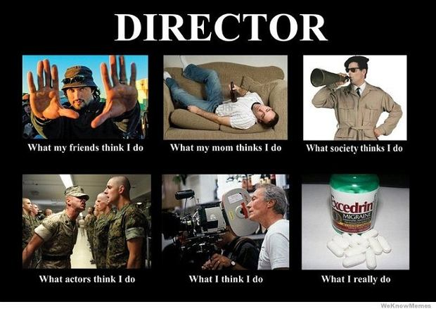 What people think i do...