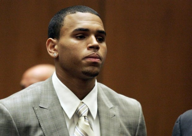 Chris Brown is seen during his  preliminary hearing in the felony assault case on  Monday, June 22, 2009, in Los Angeles County Superior Court.  Brown pleaded guilty to one count of felony assault.  (AP Photo/Lori Shepler, Pool)