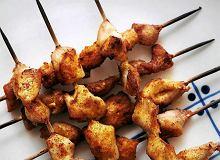 Szaszłyki z kurczaka z pesto z pieczonej papryki - ugotuj