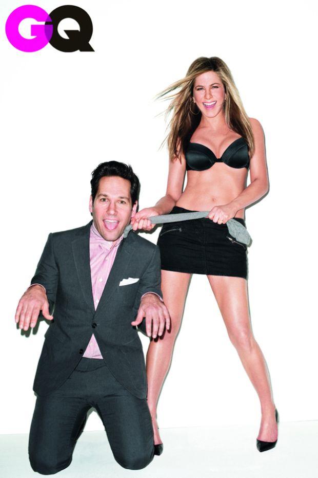 Jennifer Aniston, Paul Rudd