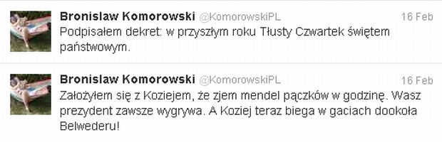 Fot. za Twitter.com/@KomorowskiPL
