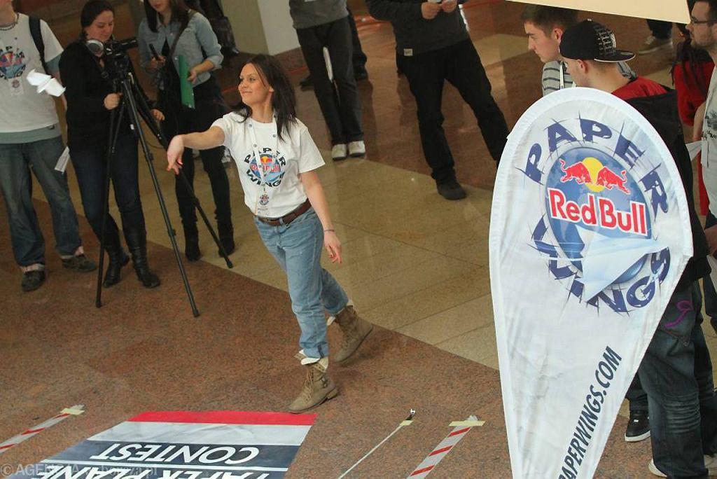 Red Bull Paper Wings w Toruniu