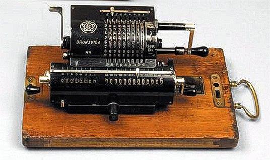 Arytmometr, dziadek kalkulatora