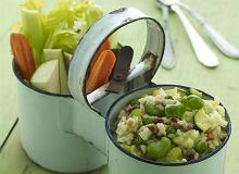 Risotto wiosenne z warzywami - ugotuj