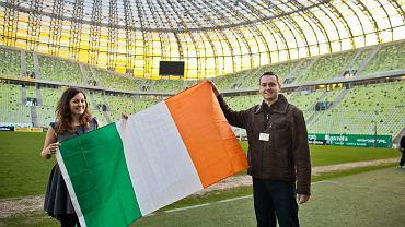 Irlandzcy dziennikarze na PGE Arenie