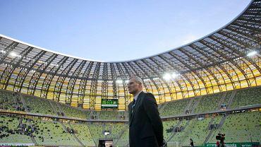 Paweł Janas na stadionie PGE Arena Gdańsk