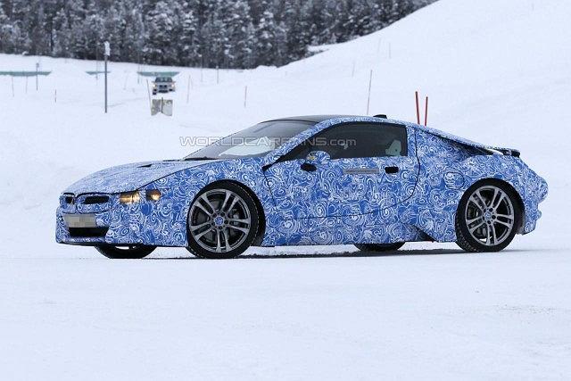 BMW i8 - testy w Szwecji