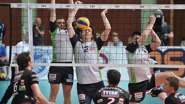Pierwszy mecz finałowy Pucharu Challenge w Arenie Ursynów: AZS Politechnika Warszawska przegrała z Tytanem AZS Częstochowa 1:3