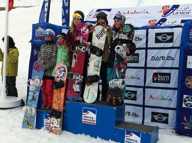 Kasia Rusin Mistrzynią Świata w slopestyle'u