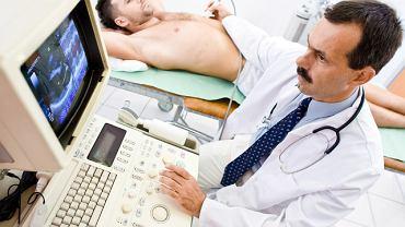 Za pomocą USG Dopplera bada się: nogi, narządy płciowe, narządy jamy brzusznej, serce, tętnice podobojczykowe, tętnice szyjne oraz guzy