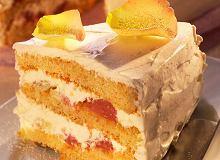 Tort grejpfrutowy - ugotuj