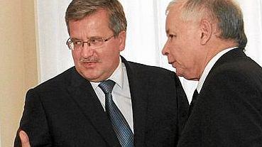 Bronisław Komorowski i Jarosław Kaczyński