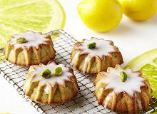 Babeczki pistacjowo-cytrynowe - ugotuj