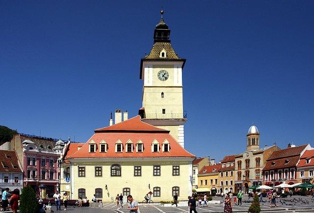 Brasov rynek i ratusz | Brasov rynek i ratusz / fot. cityhopper/FotoForum.gazeta.pl