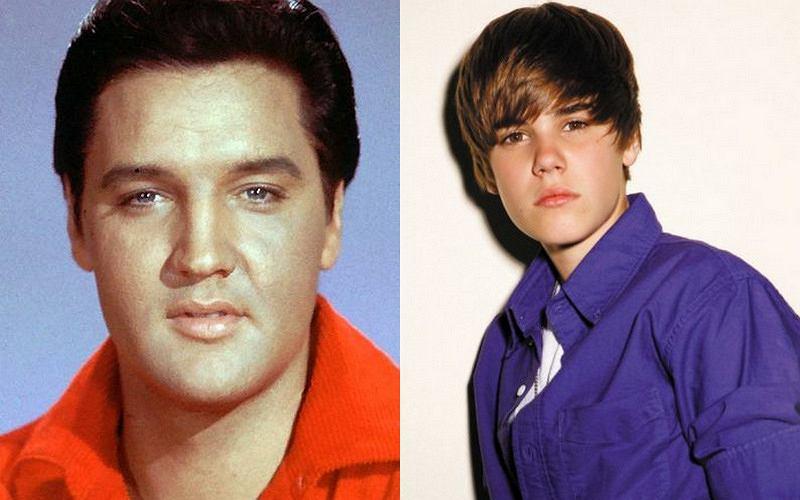 Justin Bieber zaśpiewa z Elvisem