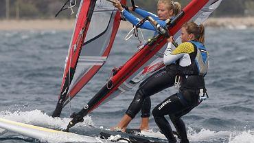 Maja Dziarnowska i Pauline Perrin