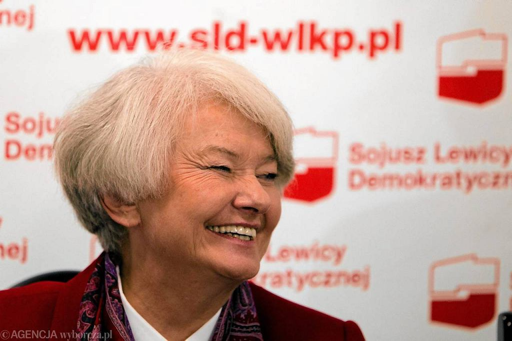 Krystyna Łybacka (SLD)
