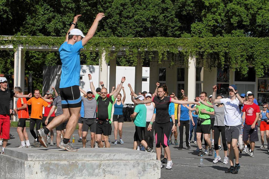 Bieg inaugurujący we Wrocławiu kolejną edycję akcji Polska biega w 2012 roku