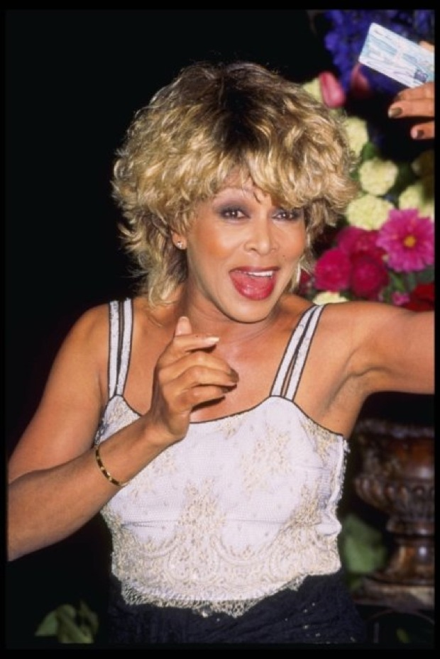 May 13, 1997 - Hollywood, California, USA - TINA TURNER attends the Discover Card private issue press conference.  (Credit Image: ?? Kathy Hutchins/Michelson/ZUMA Press)