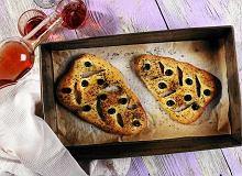 Fougasse - prowansalski chleb z oliwkami - ugotuj